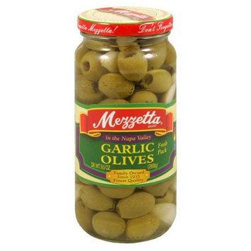Mezzetta Mild Garlic Olives, 9.5 Ounce (Pack of 6)