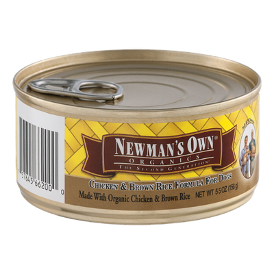 Newman's Own Organic Chicken & Brown Rice Formula for Dogs