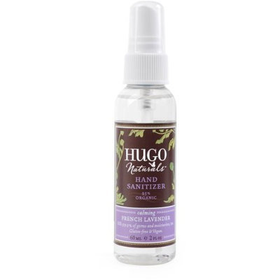 Hugo Naturals Hand Sanitizer, French Lavender, 2 Ounce