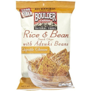 Boulder Canyon Cheese Snacks Rice and Adzuki Bean Chipotle -- 5 oz