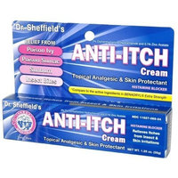 Dr. Sheffield's Anti-itch Cream with Histamine Blocker - 1.25 Oz.