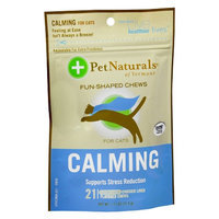 Pet Naturals Chicken Liver Calming Fun-Shaped Chews for Cats