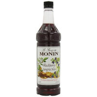 Monin Flavored Syrup, Blackberry Sangria, 33.8-Ounce Plastic Bottles (Pack of 4)