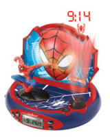 Lexibook America Inc Ultimate Spider-Man Projector Alarm Clock