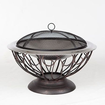Fire Sense 61458 30 Stainless Steel Urn Fire Pit