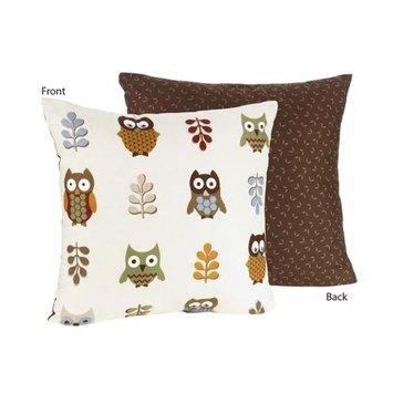 Sweet Jojo Designs Owl Collection Decorative Pillow