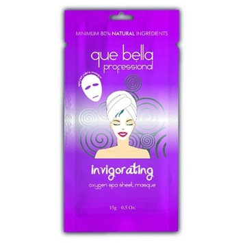 Que Bella Professional Oxygen Sheet Mask 0.5 Oz