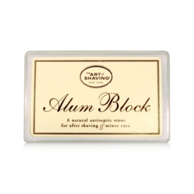 The Art of Shaving Alum Block
