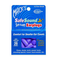 Mack's SafeSound Slim Fit Soft Foam Earplugs