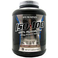 Dymatize Iso-100 100% Hydrolyzed Gourmet Chocolate Whey Protein Isolate