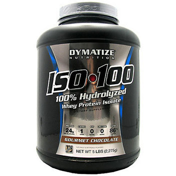Dymatize Iso-100 100% Hydrolyzed Gourmet Chocolate Whey Protein Isolate