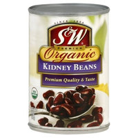 S&W Kidney Beans, Organic, 15-Ounce (Pack of 12)