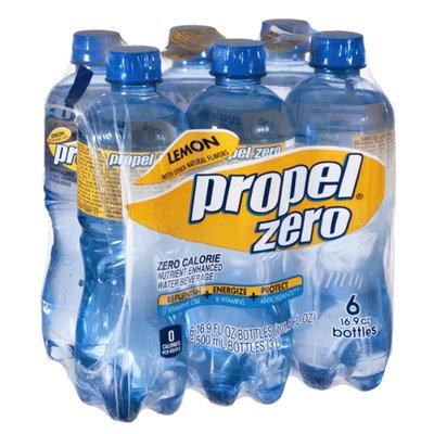 Propel Zero Lemon Zero Calorie Nutrient Enhanced Water Beverage - 6 CT