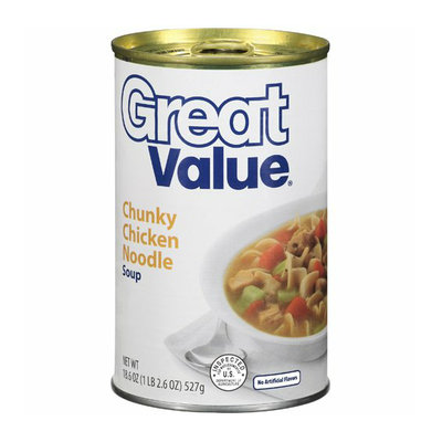 Great Value : Chunky Chicken Noodle Soup
