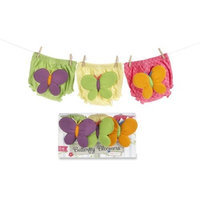 Baby Aspen Butterfly Bloomers For Fluttering Bums, 6-12 Months (Discontinued by Manufacturer)