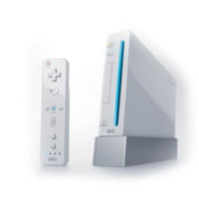 Nintendo Gaming System w/Wii Sports Game (White)