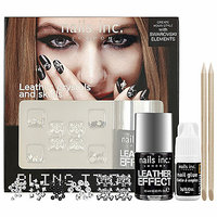 nails inc. Bling It On Kit - Rebel