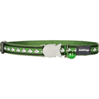 Red Dingo CC-RF-GR-SM Cat Collar Reflective Green