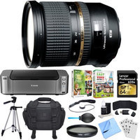 Tamron SP 24-70mm f2.8 Di VC USD Lens for Canon EOS Mount Dual Mail in Rebate Bundle