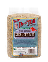 Bob's Red Mill Organic Quick Cooking Steel Cut Oats 44 oz