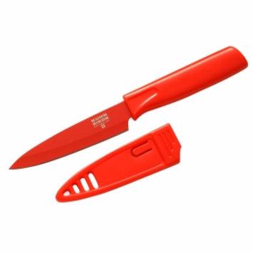Kuhn Rikon Paring Knife Colori, Red, 1 ea