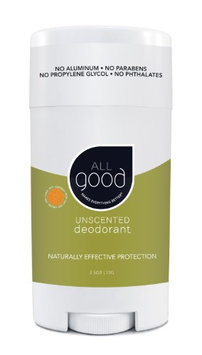 All Good Deodorant Unscented Elemental Herbs 2.5 oz Stick