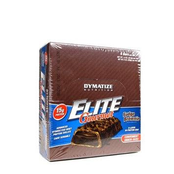 Dymatize Nutrition Elite Bar, Fudge Brownie, 6-Count