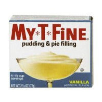 My-t-fine My T Fine Pudding, Vanilla, 2.75-Ounce (Pack of 12)