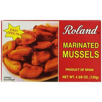 Roland Marinated Mussels, 4 3/8-Ounce Cans (Pack of 5)