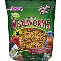 F.m. Brown Pet F.M. Brown's Garden Chic Mealworms, 14-Ounce