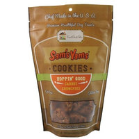 Sam's Yams Cookies Sweet Potato Dog Treats, Hoppin' Good Carrot Crunchies, 4.5 Ounces