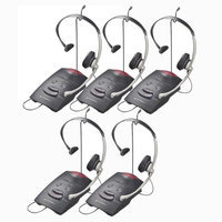 Plantronics S11 (5-Pack) Corded Headset System