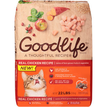 Goodlife Adult Chicken Cat Food, 22 lbs