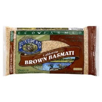 Lundberg Family Farms Eco-Farmed California Basmati Brown, Gluten Free Rice, 2 LB (Pack of 6)