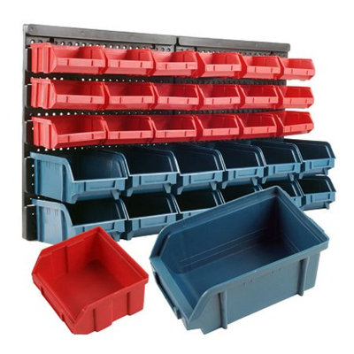 Trademark Tools Superior 30 Drawer Wall Mounted Parts Rack