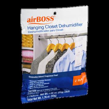 airBOSS Hanging Closet Dehumidifier Packs - 2 CT