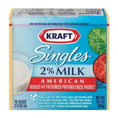 Kraft Singles 2% Milk American Cheese