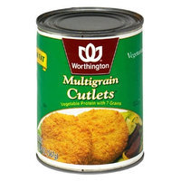Worthington Multigrain Cutlets, Low Fat, 20-Ounce Cans (Pack of 12)