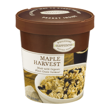Wholesome Happiness Maple Harvest Oatmeal