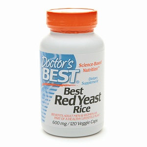 Doctor's Best Red Yeast Rice 600 with CoQ10