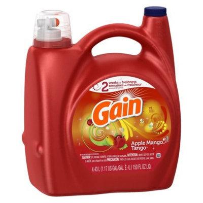 Gain Apple Mango Tango Liquid Laundry Detergent - 150 oz