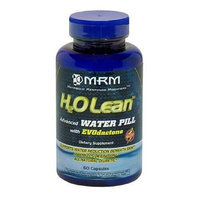 MRM H2O Lean Advanced Water Pill Capsules with EVOdactone, 60-Count Bottles