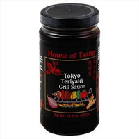 HOUSE OF TSANG 24525 HOUSE OF TSANG SAUCE GRILL TOKYO TERIYAKI - Pack of 6 - 14. 5 OZ