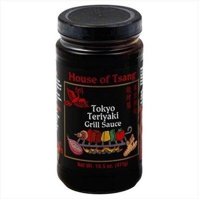HOUSE OF TSANG 24525 HOUSE OF TSANG SAUCE GRILL TOKYO TERIYAKI - Pack of 6 - 14. 5 OZ