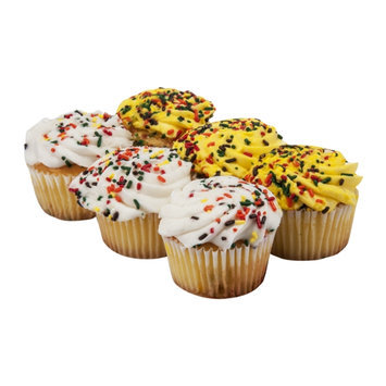 Ahold Gold Cupcakes Harvest - 6 CT