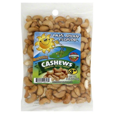 Barnard Cashews Roasted, No Salt, 6.5oz