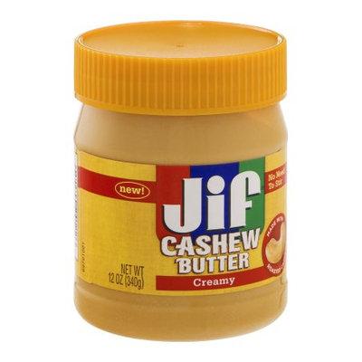 Jif Creamy Cashew Butter, 12 OZ (Pack of 6)