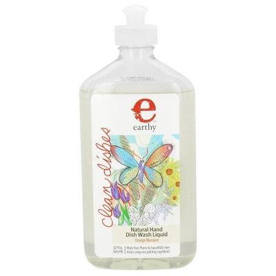 Earthy - Clean Dishes Natural Hand Dish Wash Liquid Orange Blossom - 17 oz.