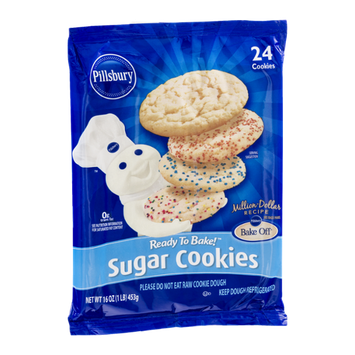 Pillsbury Ready to Bake Sugar Cookies - 24 CT