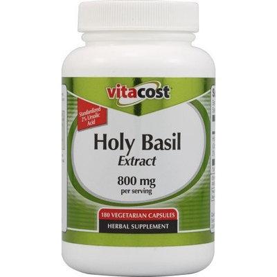Vitacost Brand Vitacost Holy Basil Extract -- 800 mg per serving - 180 Vegetarian Capsules